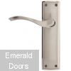 Ardeche Lever On Backplate Latch