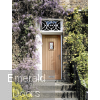 Chancery Onyx Tri-Glazed External Oak Door In Situ