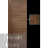 Cadiz Walnut Fire Door Prefinished