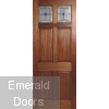 Colonial Top Light Lead External Door