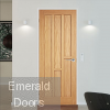 Coventry Oak Fire Door Fully Finished In Situ