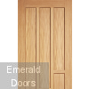 Coventry Oak Fire Door Fully Finished Panel Profile