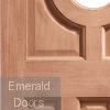 Acacia Double Glazed External Hardwood Door Panel