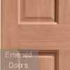 London Hardwood External Door Corner Profile
