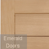 Modena External Oak Door Corner Profile