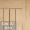 Suffolk External Oak Door Profile Image