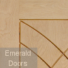 Treviso Unfinished Oak Fire Door Small Image