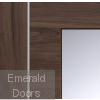 Forli Walnut Door With Clear Glass Small Image