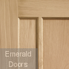 Oak Worcester Fire Door Corner Profile