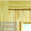 Stable 1 Light External Clear Pine Door (Dowelled) with Clear Glass Corner Image