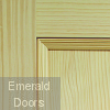 Vertical Grain Vine DX Pine Internal Door Corner Profile