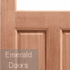 2XG Hardwood Dowelled Unglazed External Door Corner Profile