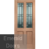 Malton Drydon Glazed M&T External Door