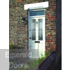 Malton Drydon Glazed M&T External Door In Situ