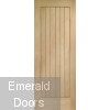 Suffolk External Oak Door