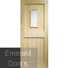 Stable 1 Light External Clear Pine Door (Dowelled) with Clear Glass