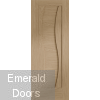 Florence Oak Internal Door Fully Finished