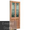 Malton Drydon Glazed M&T External Door Skewed Image
