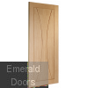 Verona Unfinished Oak Fire Door Skewed Image