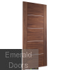 Portici Pre-Finished Walnut Door Skewed Image