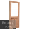 2XG Hardwood Dowelled Unglazed External Door Skewed Image