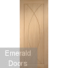Pesaro Pre-Finished Oak Internal Door