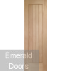 Suffolk Oak Prefinished Door 21""