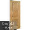 Kensington Oak Fire Door Fully Finished