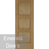Madrid 3P Oak Internal Door