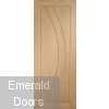 Salerno Unfinished Oak Door