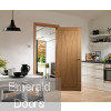 Verona Unfinished Oak Fire Door