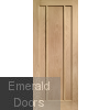 Worcester Oak Fire Door Unfinished