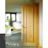 Worcester Oak Fire Door