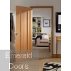 Worcester Unfinished Oak Internal Door In Situ Image