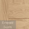 Palermo Pre-Finished Oak Fire Door Small Image