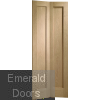 Pattern 10 Oak Bi-Fold Door