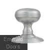 Ringed Door Knob on Rose