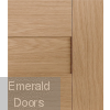 Perugia Oak Internal Door Fully Finished Small