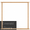 Universal Oak Double Door Frame