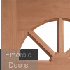 Carolina Unglazed External Hardwood Door (M&T) Profile Image