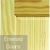 Clear Pine Victorian 4 Panel Fire Door Corner Profile
