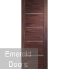 Portici Pre-Finished Walnut Door