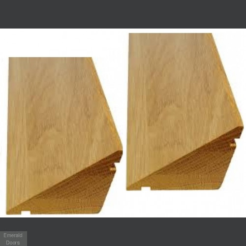 Hardwood Stable Door Weather Bar Kit