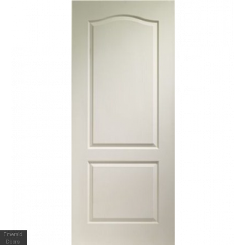 Classique 2 Panel Internal White Moulded Fire Door