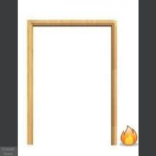 Softwood Fire Door Frame Double Doors