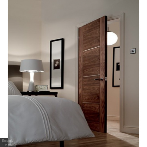 Nova Walnut Fire Door