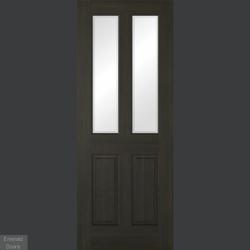 Richmond Smoked Oak Glazed Internal Door