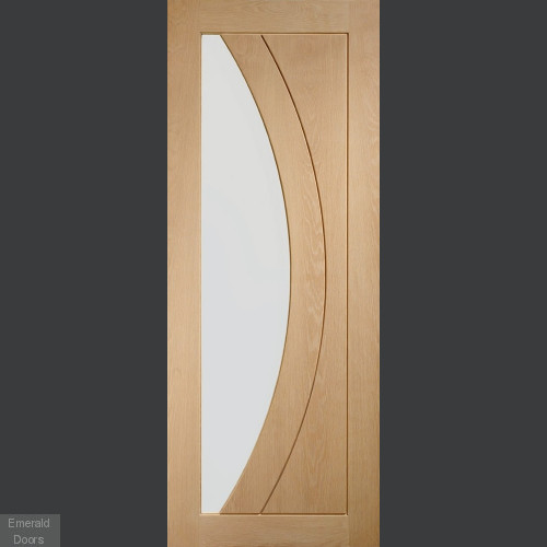 Custom Made Salerno Oak Fire Doors