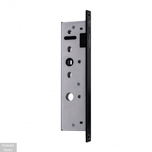 Black Soho 4P Industrial Style Door Pair