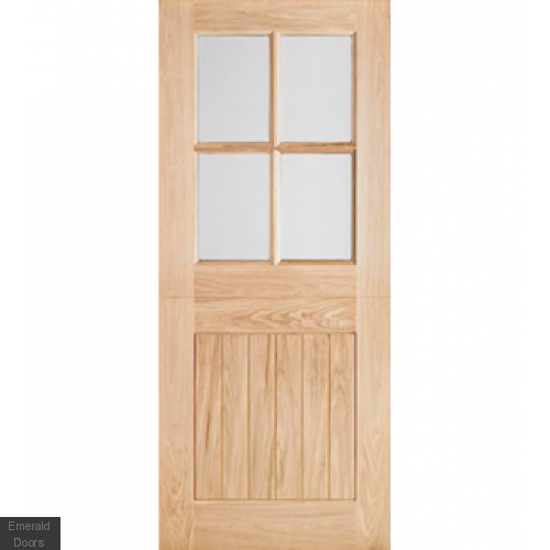 Oak Cottage Stable Door 4 Light